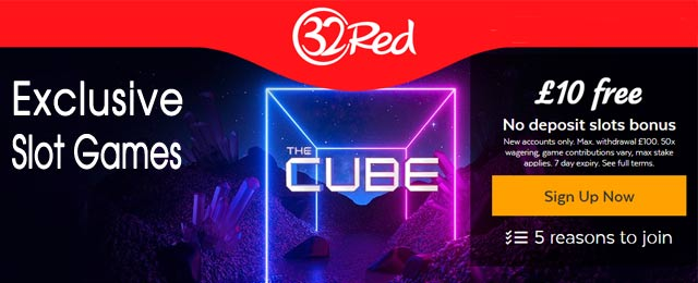 Exclusive The Cube Slot Game