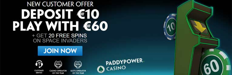 paddy power casino bonus bonus