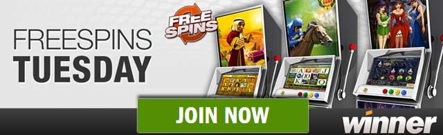 online casino winner free spin games
