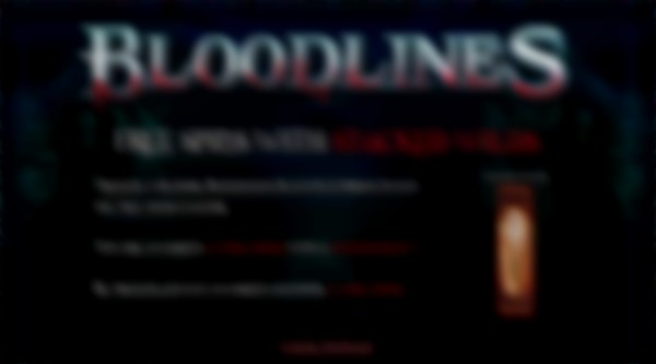 bloodlines free games